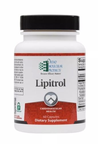 Ortho Molecular Lipitrol 60 Capsules Exp. 3/22 FRESHEST! FAST SHIP!