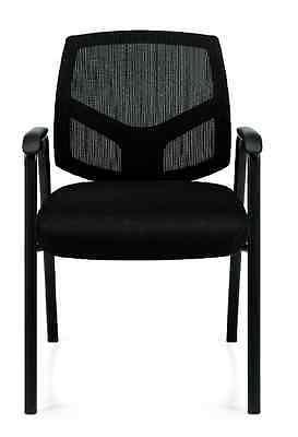 Black Otg11512b Mesh Back Guest Chair