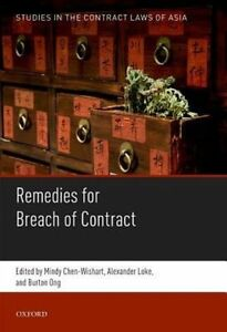 Remedies for Breach of Contract by Oxford University Press (Hardback, 2016)