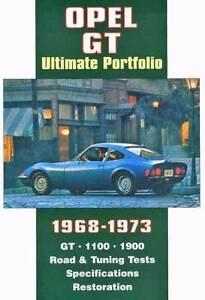 Opel GT Ultimate Portfolio 1968 - 1973 Blacktown Blacktown Area Preview