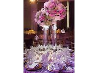 WOW factor centerpieces ...... Stunning Head tables... Exciting backdrops .....