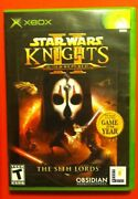 Star Wars Knights of The Old Republic Xbox