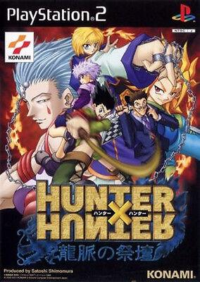 Used PS2 Hunter X Hunter  Japan Import (Free Shipping)