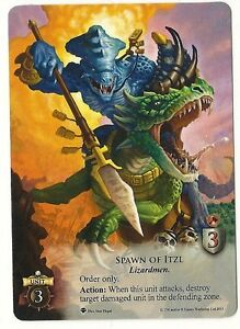 Spawn of Itzl - Game Night Kit s3 Promo - Warhammer: Invasion LCG