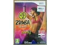 Zumba fitness join the party. Wii game