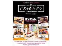 3 x tickets for FRIENDSfest 2018, Glasgow 14th July 2018