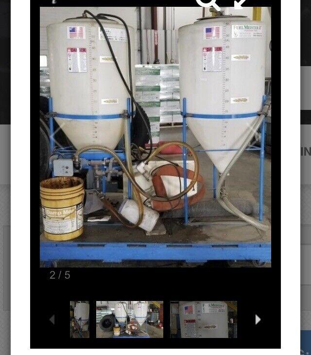 Fuel Meister Dual Tank Biodiesel Processor