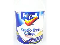 PolyCell Crack Free Ceiling Paint 2.5L White