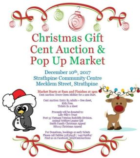 Christmas Gift Cent Auction and Pop Up Market