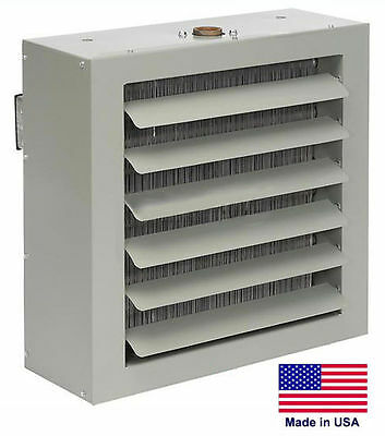 Unit Heater - Steam Hot Water Commercial - Fan Forced - 108000 Btu - 115 Volt