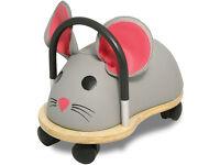 Wheelybug Mouse ride along toy