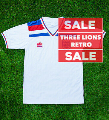 SALE | England Football Shirt | Retro | Home Shirt | White | Short Sleeve | 1982