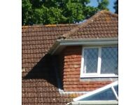 Re-claimed hand made clay roof tiles