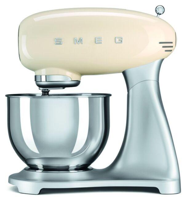 Smeg SMF01CRUK | 50's Retro Style Stand Mixer | Pastel Cream | Brand New