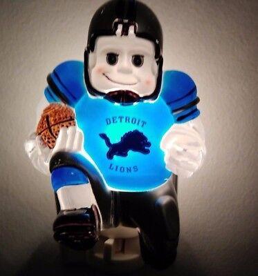 Detroit Lions Night Light - NFL DETROIT LIONS FOOTBALL PLAYER NIGHT LIGHT