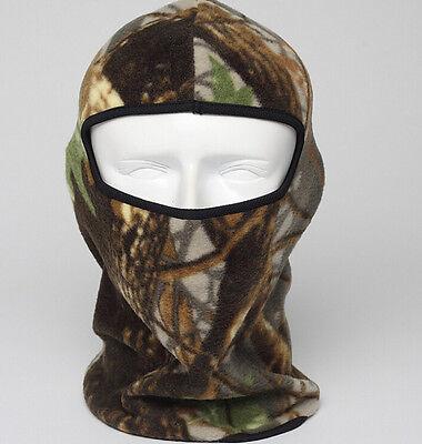 Outdoor Camo Thermal Fleece Balaclava Warm Winter Ski Motorcycle Full Face Mask Camo Fleece Face Mask