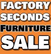 FACTORY SECONDS FURNITURE SALE - 50-90% off RRP Granville Parramatta Area Preview