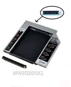 NEW 2ND SATA HDD Hard Drive Caddy for HP COMPAQ CQ62 G62 G72 G4 G6 G7 CQ57 C