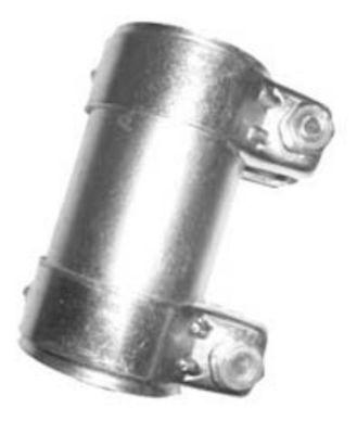 EEC PC49595 Exhaust Pipe Connector Sleeve Joiner Diameter 49.5mm Length 95mm