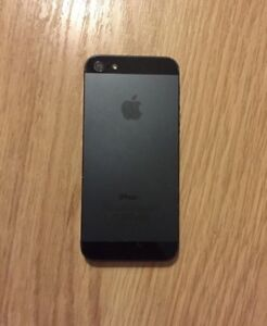 Black iPhone 5, 64g  Peterborough Peterborough Area image 3