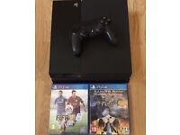 Cheap ps4 with 2 games