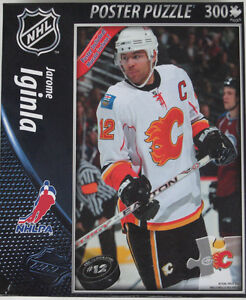 JAROME IGINLA .... TOP DOG puzzle .... with POSTER included