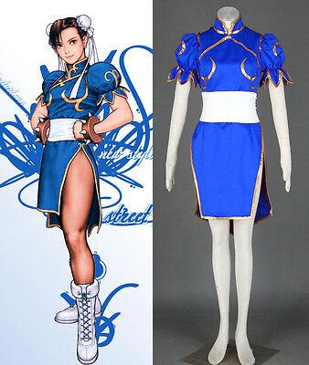 Street Fighter CHUN LI Cosplay costume Kostüm - Chun Li Cosplay Kostüm