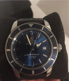 Breitling Superocean Heritage A17321 Automatic Watch warranty by breitling until june 2018