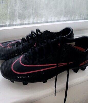 Nike Mercurial Vapor XI FG Black Hyper Pink Football Boots Size 8.5