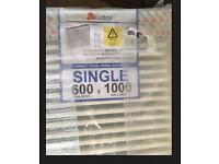 Brand new Double Panel Single Convector Central Heating Radiator Type 21 600mm x 1000mm