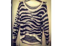Zebra Jumper - Size 14