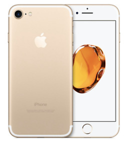MINT IPHONE 7 32GB GOLD/ROSE GOLD UNLOCKED 3 MONTHS WARRANTY$299