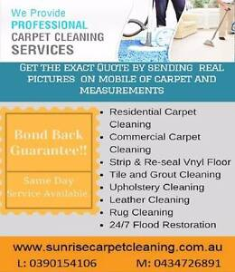 Sunrise Residence Carpet cleaning, End of lease cleaning Brighton Bayside Area Preview
