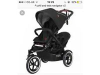 Phil & Teds Navigator double buggy ALL extras. Open to offers