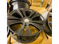 "22"" Mercedes ML S CLASS AMG alloy wheels"