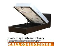 ORDER NOW BRAND NEW LEATHER BED