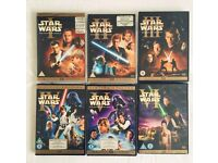 Star Wars DVD collection movies 1-6