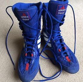 Size 4 boxing boots