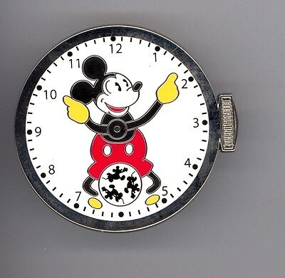 Disney Shopping Ingersol Classic Mickey Mouse Pocket Watch Fun Time LE 250 Pin