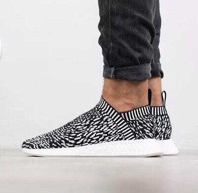 5051da5430cdc Adidas NMD CS2 Black Zebra Sashiko Japan City Sock Primeknit Boost Uk 11 cs1