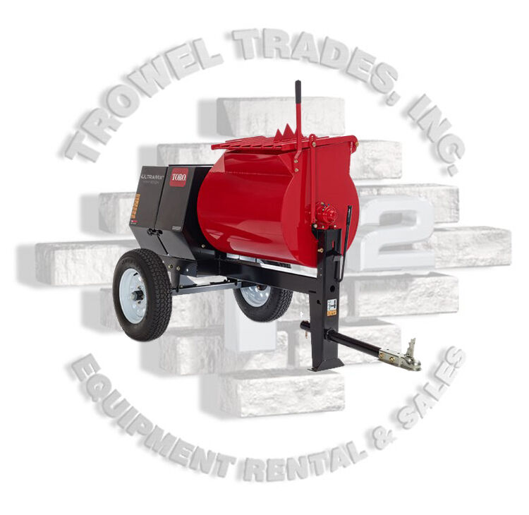 Toro 60213 Ultramix Mmx 655h-s Stone 655pm Mortar Mixer 5.5 Hp Honda Steel Drum