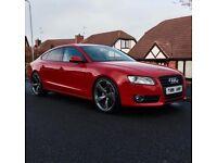 Audi a5 sportback ( Bmw a4 3 seat evo 320 )
