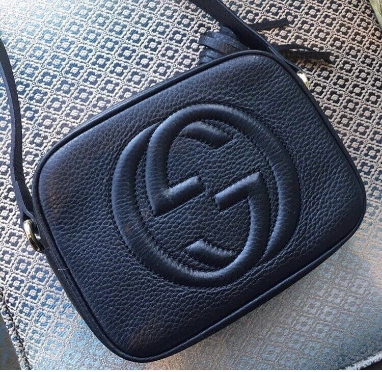 437fdcd65 Black leather pebbled leather Gucci soho disco bag | in Motherwell ...