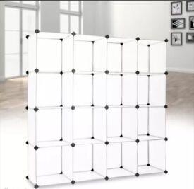 16 cube Kallax unit