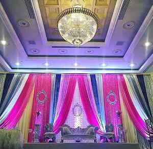 VISIT OUR WEDDING STAGE BACKDROP DECOR OFFICE/STUDIO