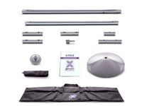 X-Pole Xpert 45mm Chrome Set