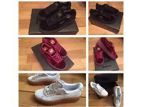 Rihanna Puma Fenty Creepers Trainers Sneakers Shoes Footwear Girls Female Women Size 4, 5, 6