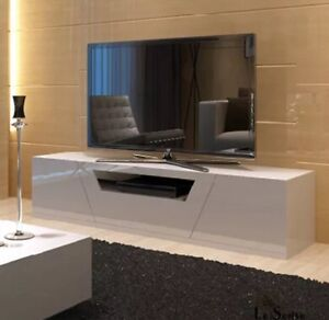 Tv unit gloss white St Leonards Willoughby Area Preview