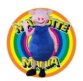 Mascot George Peppa Pig