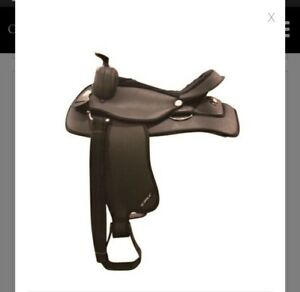 Supra synthetic western saddle from green hawk!